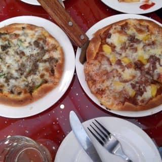 Pizza bò + pizza hải sản của xu_mn tại số 12 Văn Lang, Hòn Gai, , Thành Phố Hạ Long, Quảng Ninh - 609110
