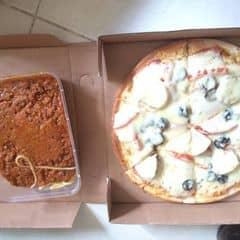 Pizza nấm thịt xông khói( funghi pizza) của phzuongfhao tại Pizza Express - 966653