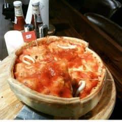 Pizza sea food của Xuân Hoàng tại Cowboy Jack's American Dining - Hoàng Đạo Thúy - 127482