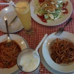 Pizza + spagettii của Ly Nguyễn tại Pepperonis Restaurant - Lý Quốc Sư - 60961