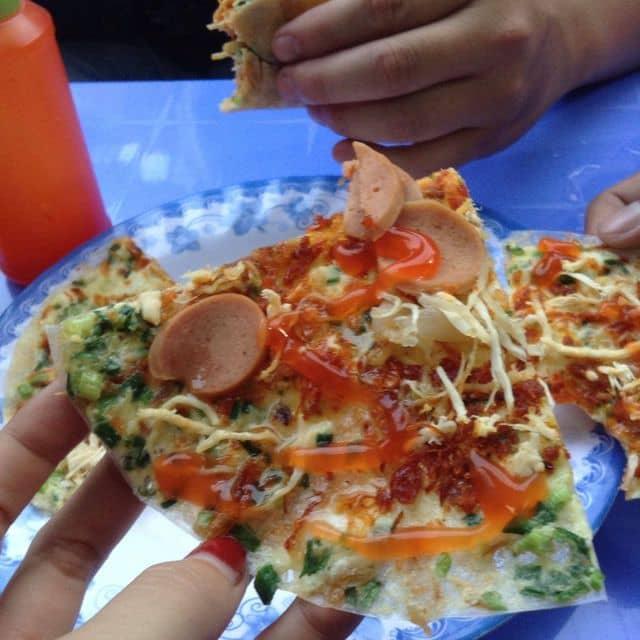 Pizza việt nam của Cáo NhamNhở tại Bánh tráng nướng - Pizza Đà Lạt - 29977