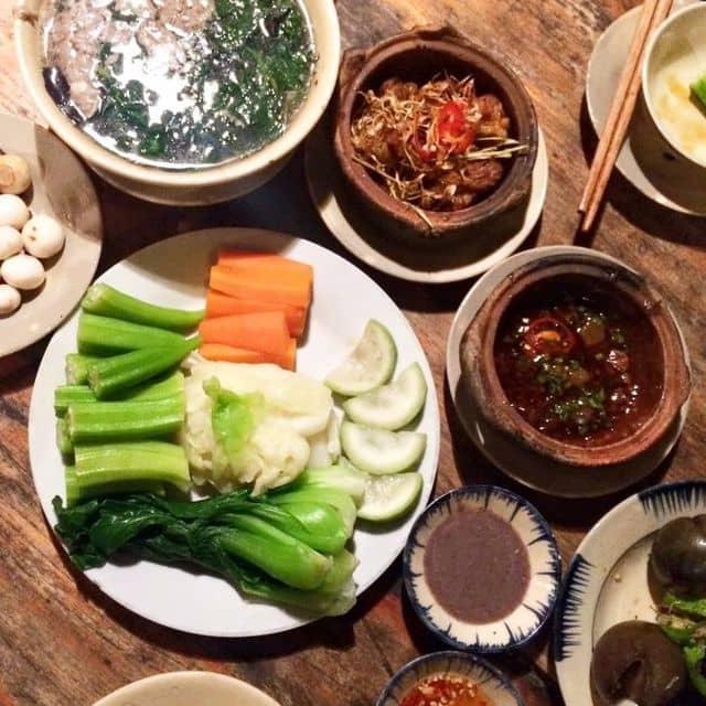 Rau luộc kho quẹt của Thảo Nguyễn tại Secret Garden - Vietnamese Restaurant & Tea House - 96832