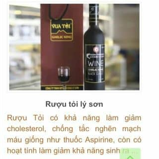 Rượu tỏi đen của vodung32 tại Trường Đại học Tài chính - Kế toán, Huyện Tư Nghĩa, Quảng Ngãi - 1825782