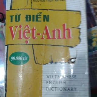Sách từ điển Anh - Việt của hanroobin tại Trần Hưng Đạo, Hue, Thừa Thiên Huế - 1012304