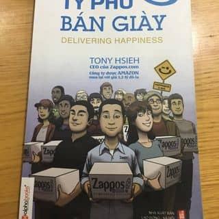 Sách Tỷ phú bán giày Tony Hsieh CEO của Zappos.com của lankhanh70 tại Hồ Chí Minh - 3431201