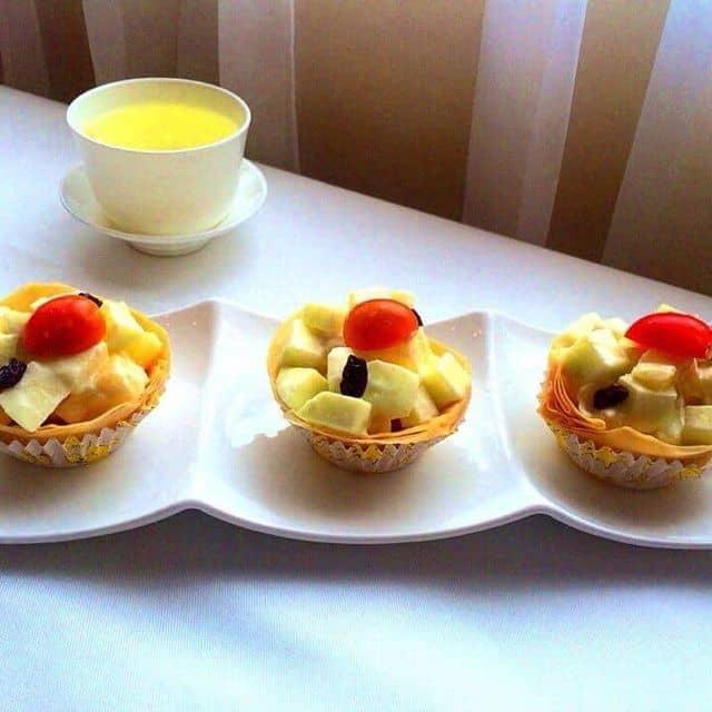 Salad tôm trái cây của Bánh Bao tại Ocean Palace - Ẩm Thực Trung Hoa - 36407