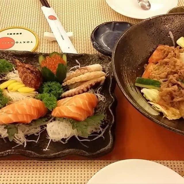 Sashimi & salad thịt bò của Đinh Quỳnh tại Tokyo Deli - Ngô Quyền - 41006