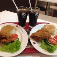Set ăn trưa cơm gà giòn cay của Linh Mỡ tại KFC - Mê Linh Hà Đông - 310121