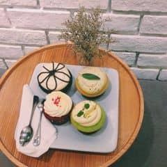 Set trà + bánh của haiyenhihi tại Mint Cupcake Creation - Nguyễn Thái Học - 873047