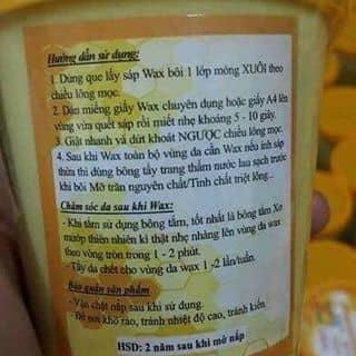 Shap wax shinny của hoangyennguyen14 tại Quảng Ngãi - 2165273
