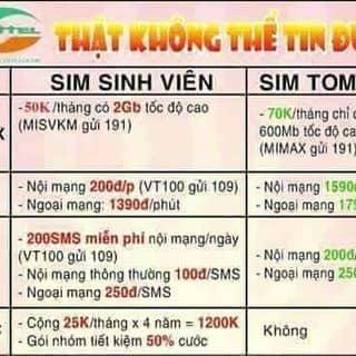 Sim sv viettel của nganthuong1 tại 35K Quang Trung, Thành Phố Hải Dương, Hải Dương - 918732