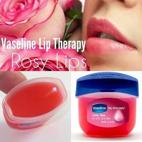 Kết quả hình ảnh cho Son dưỡng môi Vaseline Lip Therapy