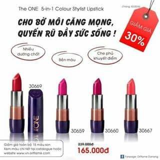 Son moi the one 5in 1 của cunly2 tại 215 Lý Tự Trọng, Quận 1, Hồ Chí Minh - 1044188