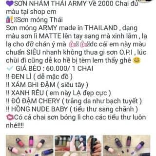 SƠN MÓNG TAY NHÁM THAILAND của tranminhnhi1 tại Sóc Trăng - 1148046