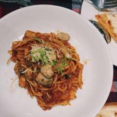 Spaghetty sốt BBQ của Lân Hoàng tại Pepperonis Restaurant - Giảng Võ - 302464