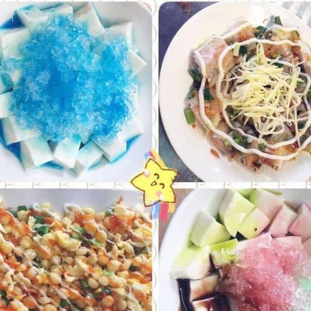 Sữa chua dẻo Blucuracao của Tran Thuy tại Ăn vặt quán ngon - 97596
