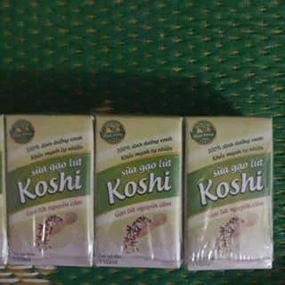 Sữa gạo lứt Koshi (gạo lứt nguyên cám và atiso) của playb0y tại Thái Bình - 3056865