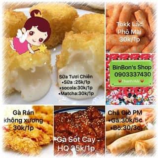 Sữa tươi chiên giòn béo binbon shop của thanhhaipham9 tại 0903337430, Quận Phú Nhuận, Hồ Chí Minh - 2182632