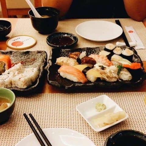 Các hình ảnh được chụp tại Tokyo Deli - Hoàng Đạo Thúy