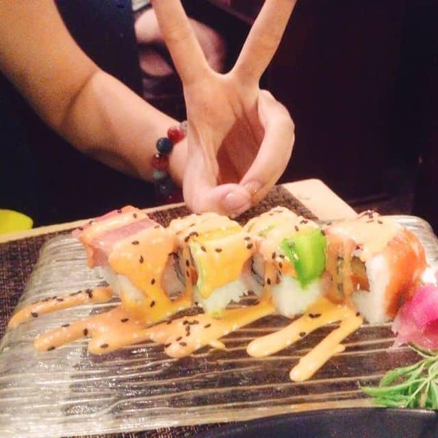 Sushi cầu vồng  của Hoàng Thị Thu Huệ tại Sio Sushi - Đoàn Trần Nghiệp - 90793