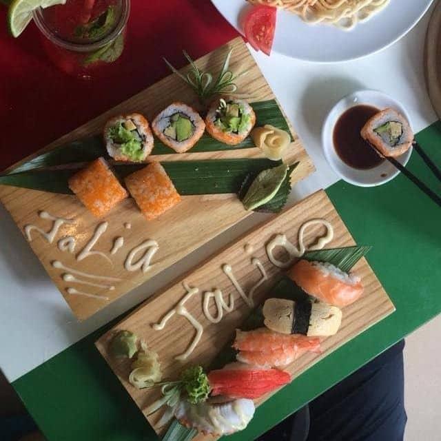 Sushi tổng hợp của Châu Trần Thị Minh tại Jalia - Vũ Ngọc Phan - 97570