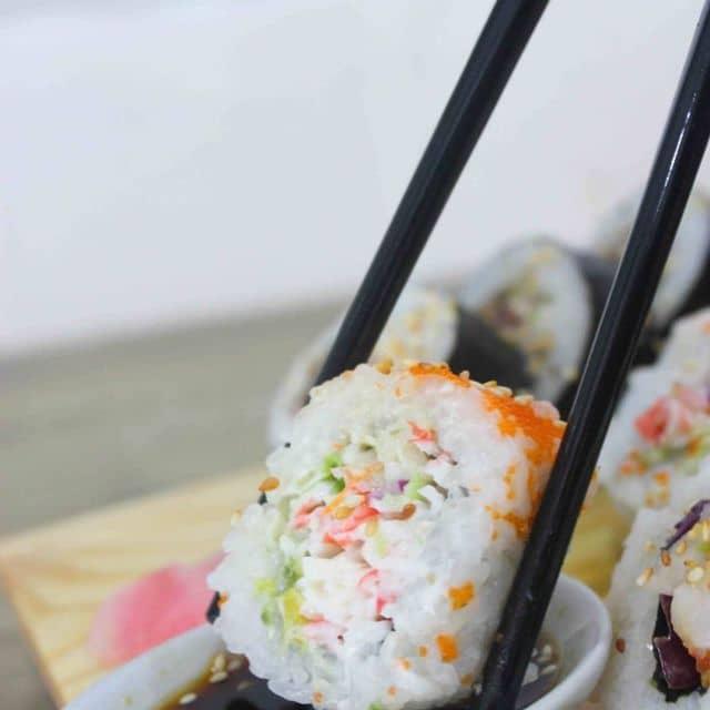 Sushi trứng tôm của Tâm Quách tại AA Sushi - Cửa Bắc  - 138549