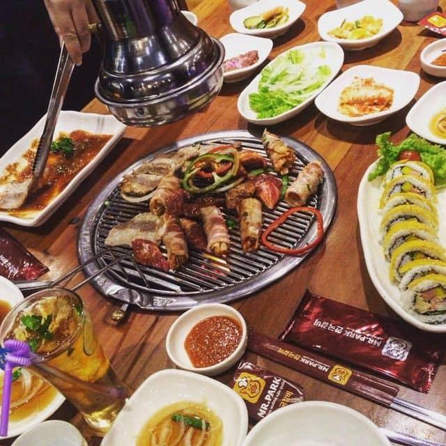 Thịt  của Út Cưng tại Mr. Park - Sườn Nướng Hàn Quốc - 79203