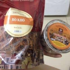 thịt bò khô, ô mai số 5 của Cá Sấu Chúa tại Ô mai Hồng Lam - Phố Huế - 332069