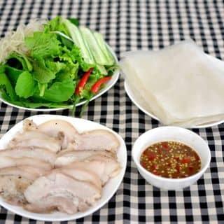 Thịt heo hấp cuốn bánh tráng của quangthanh166 tại Hội An, Thành Phố Hội An, Quảng Nam - 1195455