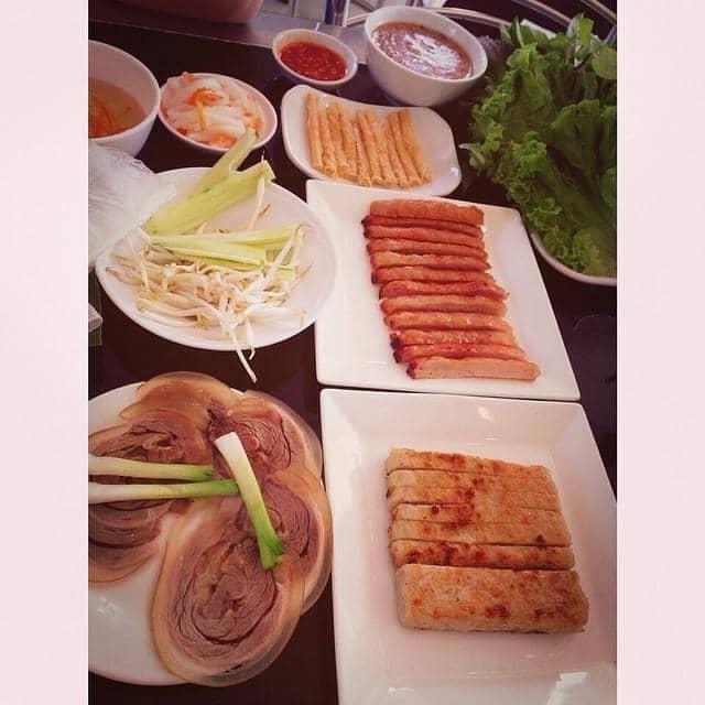 Thịt luộc + nem của Thảo Nguyễn tại Hoàng Ty - Đặc Sản Trảng Bàng - Trương Quốc Dung - 35484