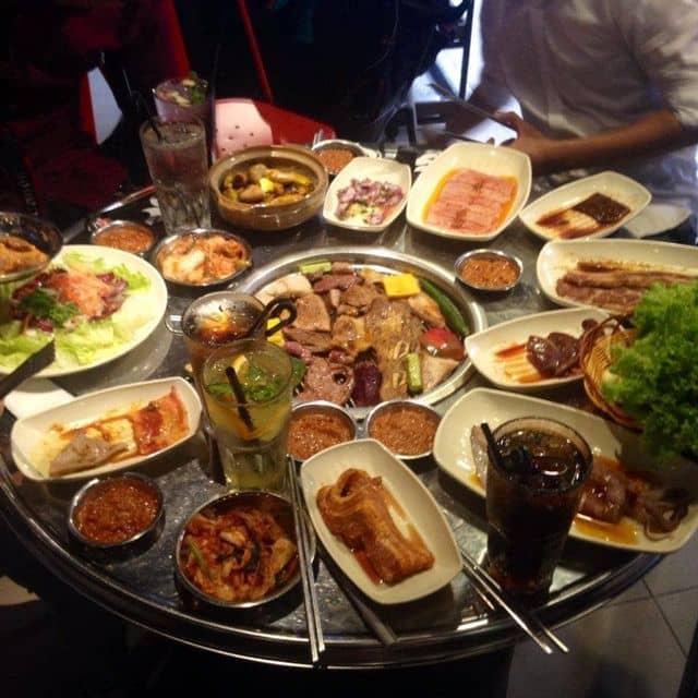 Thịt nướng Hàn Quốc  của Thảo Nguyễn tại K-Pub - Vườn nướng Hàn Quốc - Hoa Đào - 140020