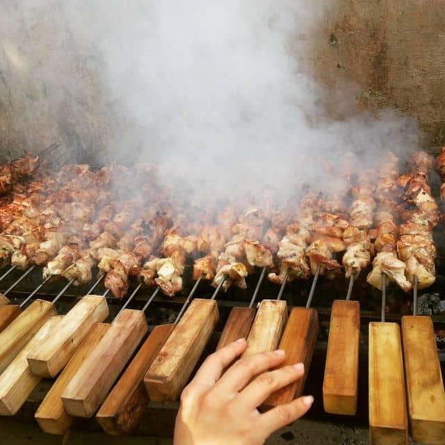 Thịt xiên nướng của Minh Anh Đặng tại my home - 112596