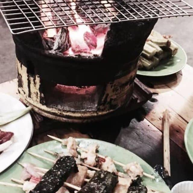 Thịt xiên nướng của Minh Thư Lý tại Mèo Ú BBQ - Xiên Nướng 5K - Lý Chính Thắng - 116649
