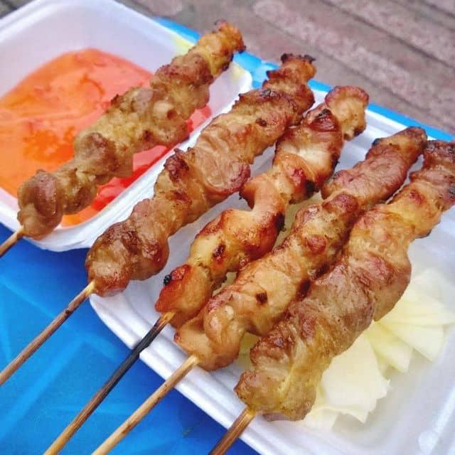 Thịt xiên nướng của Finn tại Ăn vặt cổng trường Marie Curie - 6560
