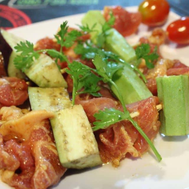 Thịt xiên nướng của Pham Thi Minh Phuong tại Bò Cười Quán - 92559