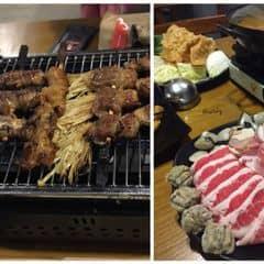Thịt xiên nướng + Lẩu của Re-bye tại UNI BBQ - Đội Cấn - 104103