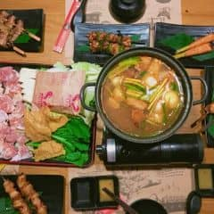Thịt xiên nướng + Lẩu của Phương Linh tại UNI BBQ - Đội Cấn - 1015663