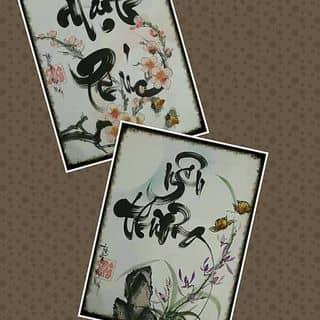 Thư pháp yêu thương & hạnh phúc của thuphapthienhoa tại Chợ Trà Vinh, phường 3, Thị Xã Trà Vinh, Trà Vinh - 1290728