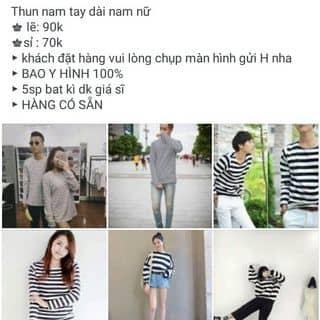 Thun tay dài nam nữ. của hanguyen219ht tại Kiên Giang - 1103555