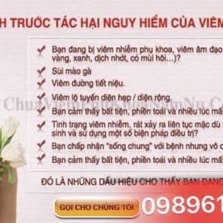 thuốc trị viêm phụ khoa họ vũ của dadanh5 tại Lào Cai - 891950