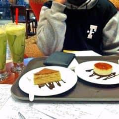 Tiramisu 19k caramel phô mai 29k trà xanh jelly 55k