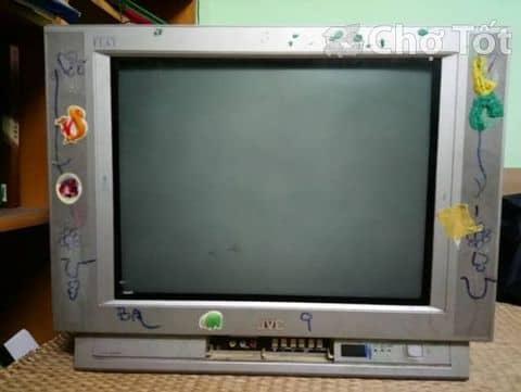 Tivi JVC 21 inch, truyền hình cáp tốt, có remote