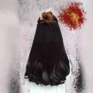 Tóc kẹp bấm xoăn đuôi của tocgiangan tại An Giang - 1436575