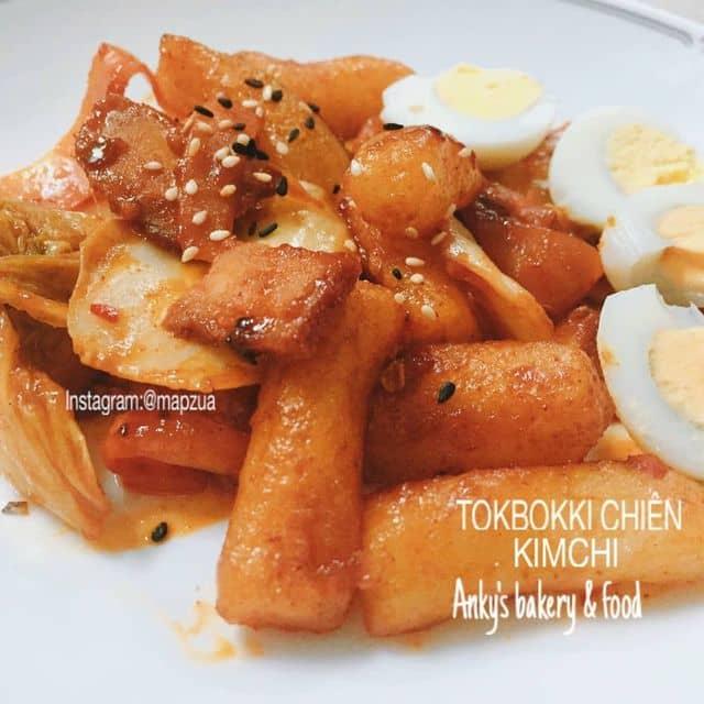 Tokbokki chiên kim chi  của Duyên Mỹ tại An kỳ's Bakery And Food - 305449