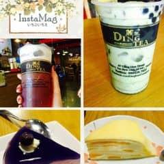 Bữa nay bánh kem tại quán được giảm giá từ 35->29k nên em tận dụng cơ hội ăn cho bằng hết. Thực ra sức chỉ được có nhiu đây thôi: bánh cheese việt quất và crepe ngàn lớp vị đào. Trà xanh matcha trân châu và đen mật ong nữa. No ná thở suýt ngủ luôn tại quán khỏi về. Đời chỉ cần có thể là em mãn nguyện rồi :)) #muondongbang #lozisaigon #oursaigon #dingteaconghka