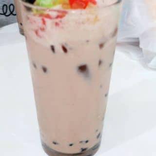 Trà sữa socola trân trâu + Trà nhài trân trâu của phamtram8 tại 21 Cách Mạng Tháng 8, Thành Phố Pleiku, Gia Lai - 717430