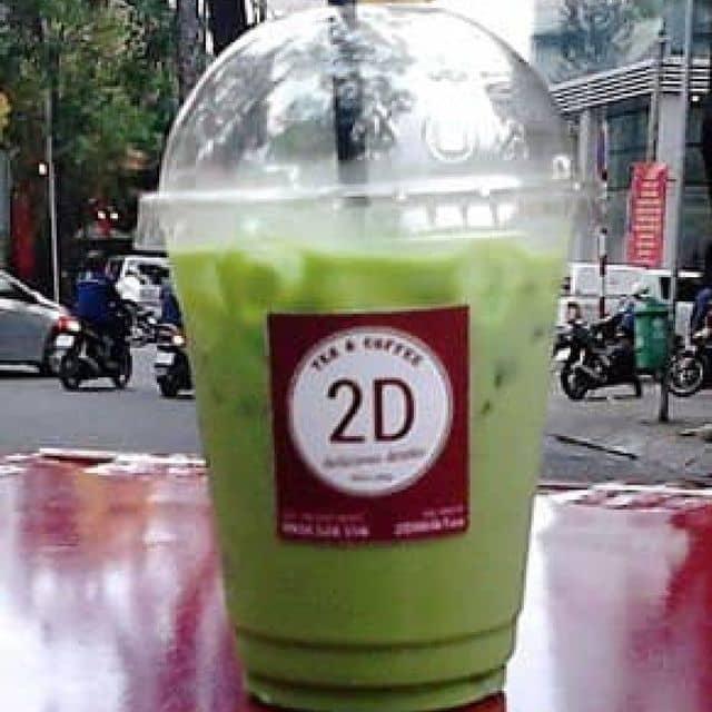 Trà sữa thái xanh của Tu Doan tại Trà sữa 2D - Hồ Con rùa - 56546