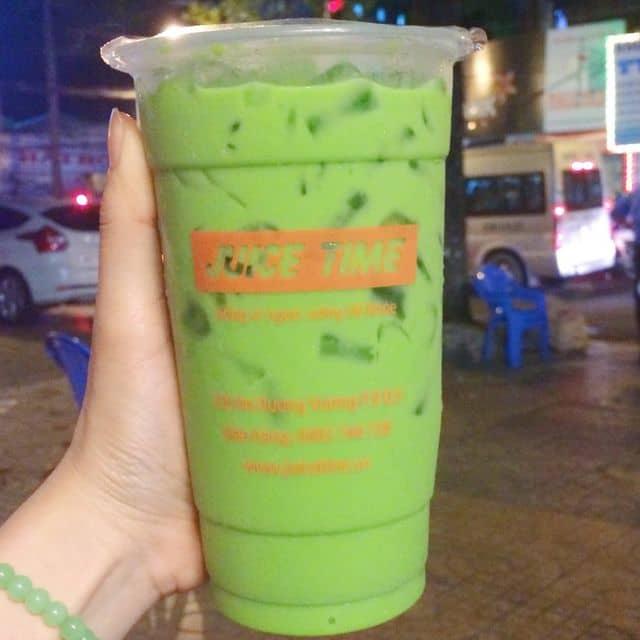Trà sữa thái xanh + thạch phô mai của Tu Doan tại Juice Time - 104439