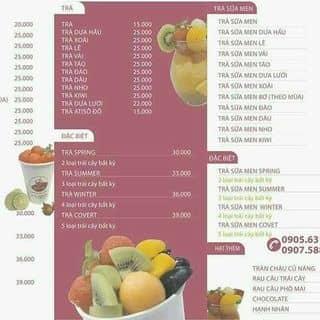 Trà sữa trái cây tươi Covet của covetmilkteafresh tại 28 Thanh Long, Hải Châu, Quận Hải Châu, Đà Nẵng - 2814609