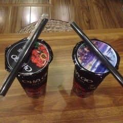 Trà sữa trân châu sợi + chago chocolate của Lưu Thu Ngân tại ChaGo Tea & Cafe - Hàng Buồm - 1055928